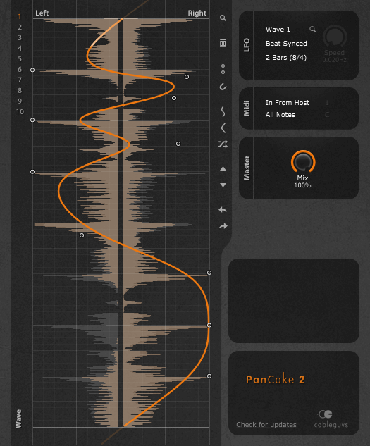 panCake 2 modulation plugin